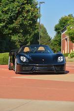 """<b>2015 Porsche 918 """"WEISSACH"""" SPYDER</b><br />VIN. WP0CA2A18FS800586"""