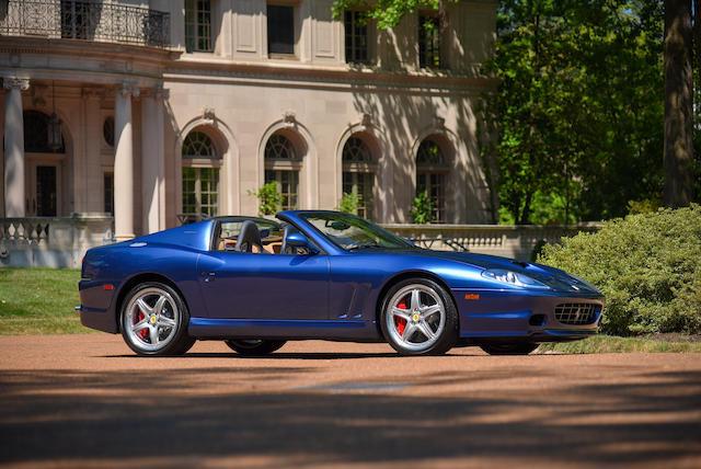 Bonhams 2005 Ferrari 575m Superamericavin Zffgt61a450142019engine