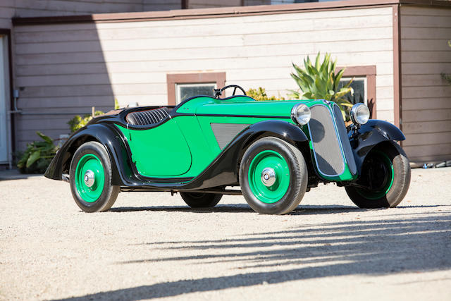 <b>1934 BMW 315/1 Roadster</b><br />Chassis no. 47706<br />Engine no. 55054 (see text)