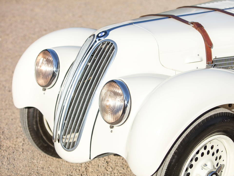 <b>1939 BMW 328 Roadster</b><br />Chassis no. 85446<br />Engine no. 85446 (see text)