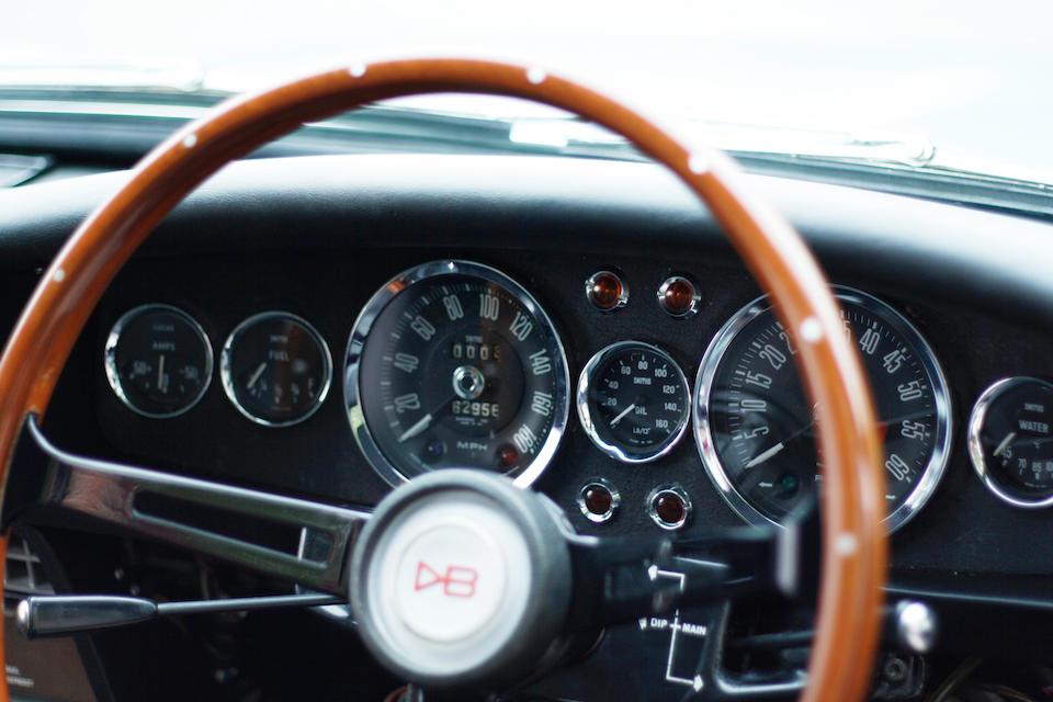 <b>1969 Aston Martin DBS Vantage</b><br />Chassis no. DBS/5362/R <br />Engine no. 400/4168/SVC
