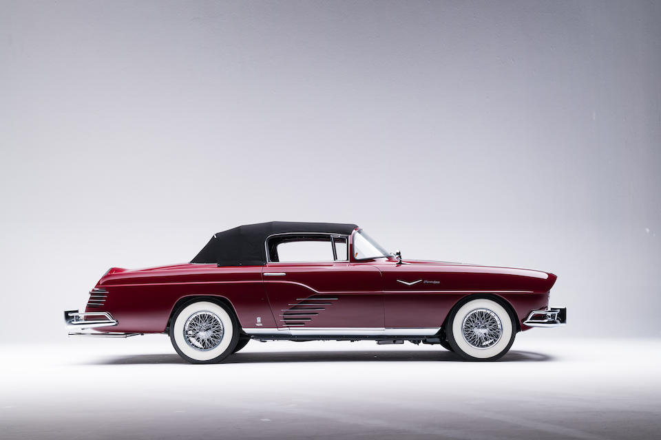 <b>1956 Fina Sport Convertible</b><br />Chassis no. 7543<br />Engine no. 8S7543