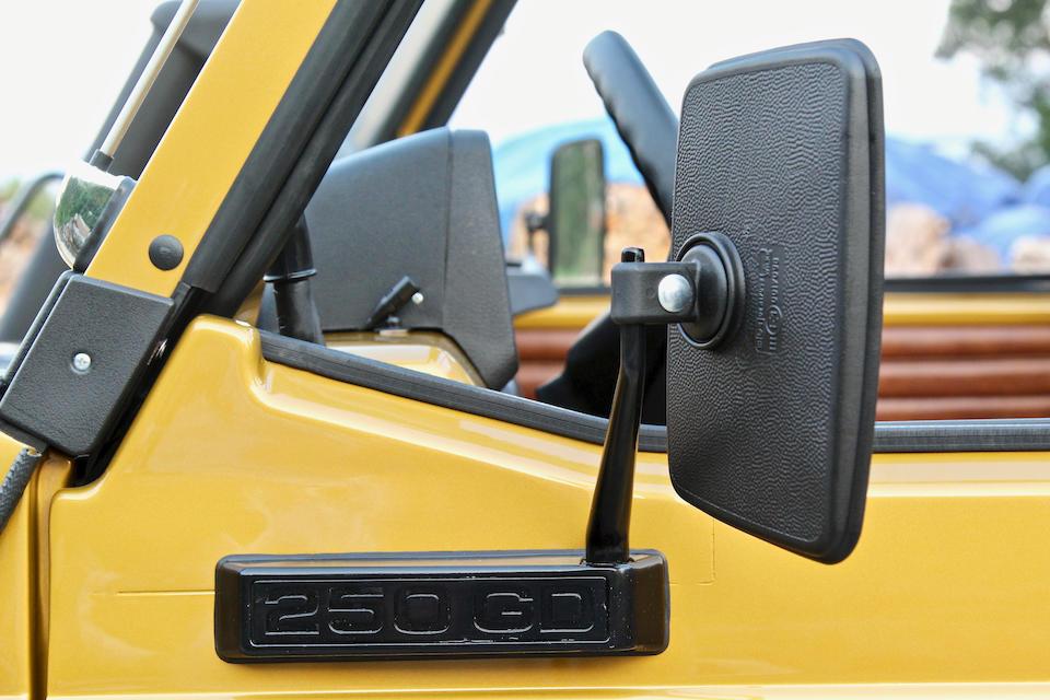 <b>1990 Mercedes-Benz G250D</b><br />VIN. WDB46140117066835