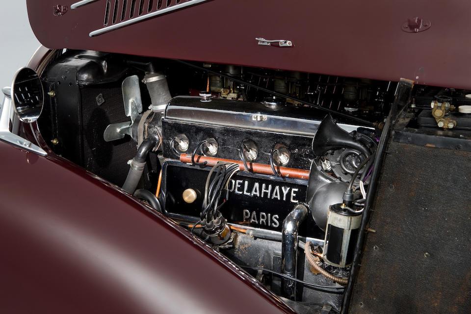 <b>1946 Delahaye 135M Coupe</b><br />Chassis no. 800311