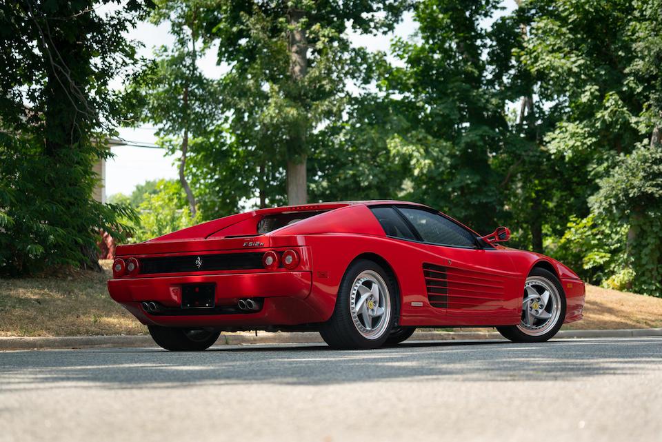 <b>1995 Ferrari F512 M</b><br />VIN. ZFFVG40A1S0102932<br />Engine no. 40446