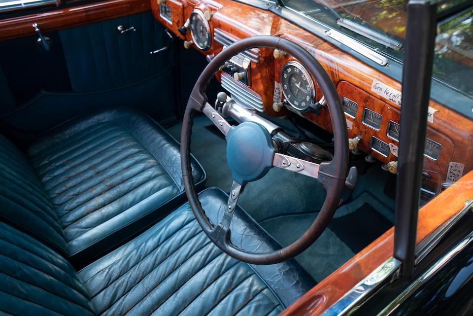 <b>1950 Delahaye 135 M Cabriolet Atlas</b><br />Chassis no. 801636<br />Engine no. 801636