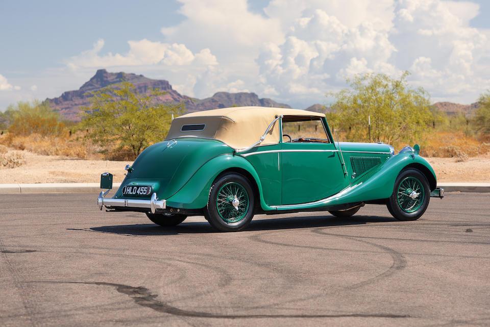 Bonhams : 1948 Jaguar MK V Drophead CoupeEngine no. SL3046