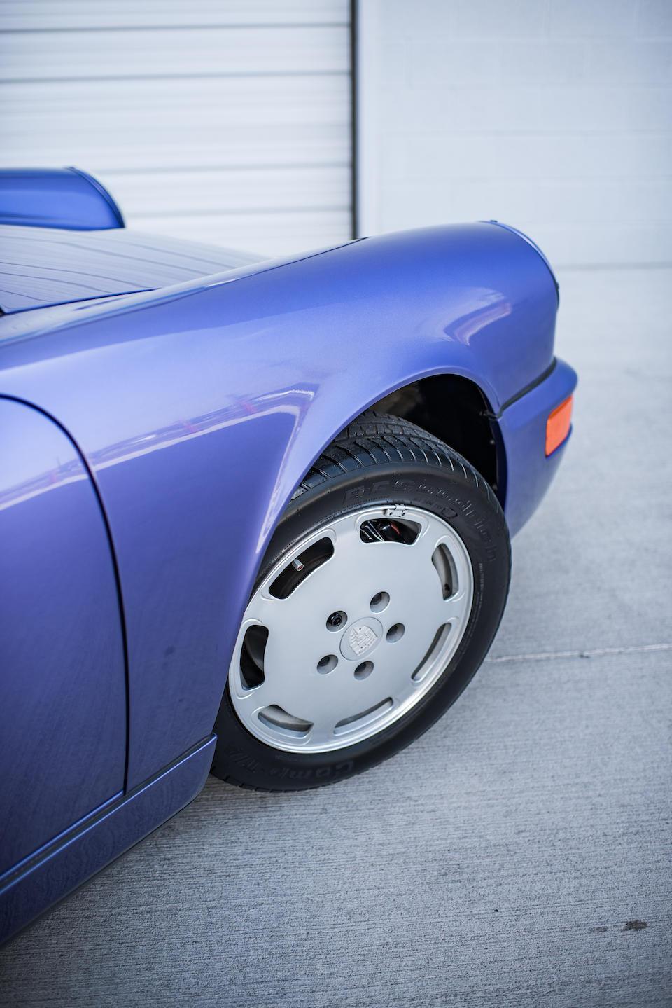 <b>1991 Porsche 911 Carrera 4 Coupe</b><br />VIN. WP0AB2965MS411518<br />Engine no. 62M11263