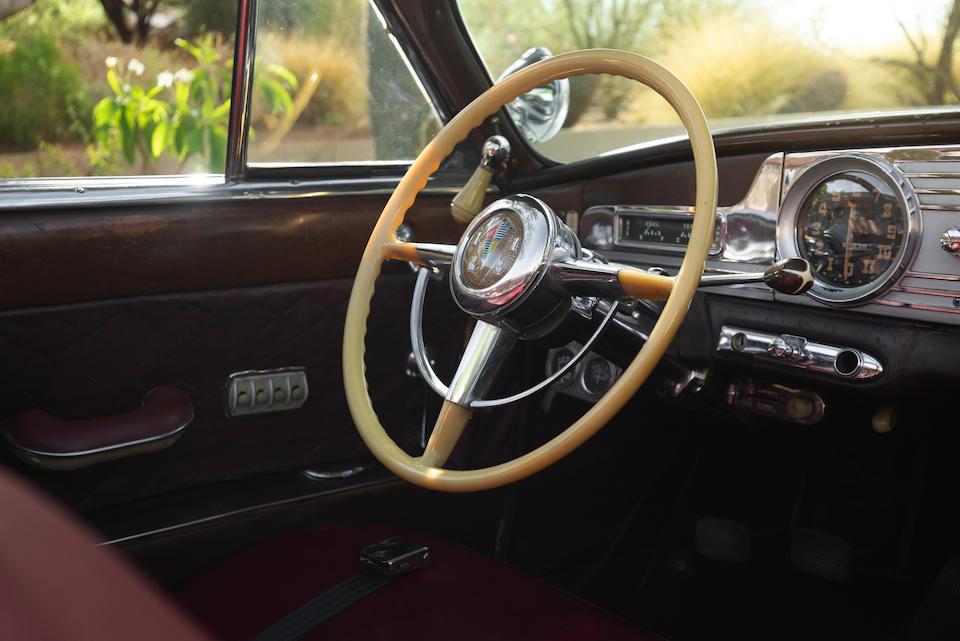 <b>1950 Hudson Custom Commodore Six Convertible</b><br />Chassis no. 50278280