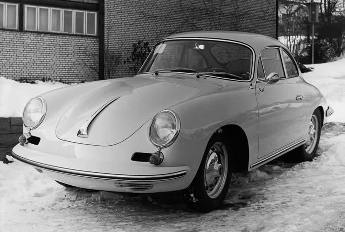 <b>1963 Porsche 356B Carrera 2 Coupe</b>  <br />Chassis no. 123845<br /> Engine no. 97236