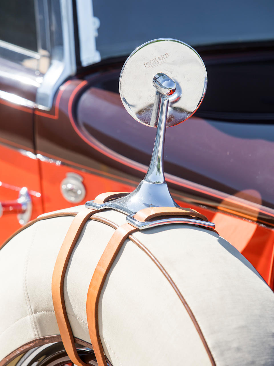 <b>1931 Packard Deluxe Eight Convertible Coupe</b><br />Chassis no. 189776<br />Engine no. 189708