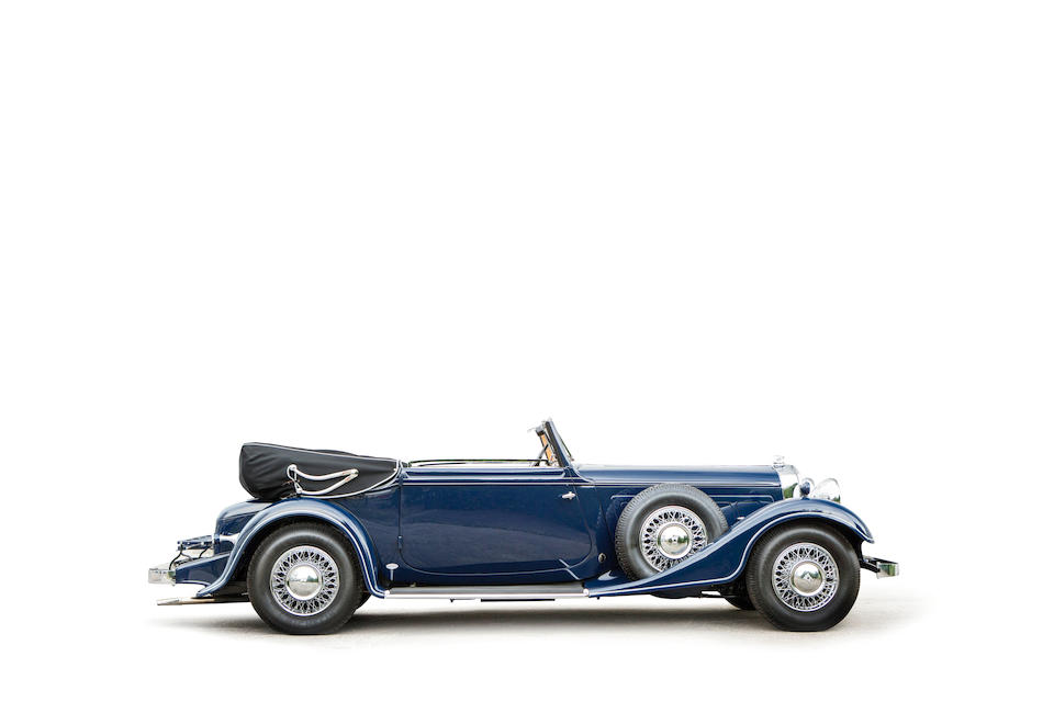 <b>1934 Horch 780 B Cabriolet</b><br />Chassis no. 78380<br />Engine no. 50321