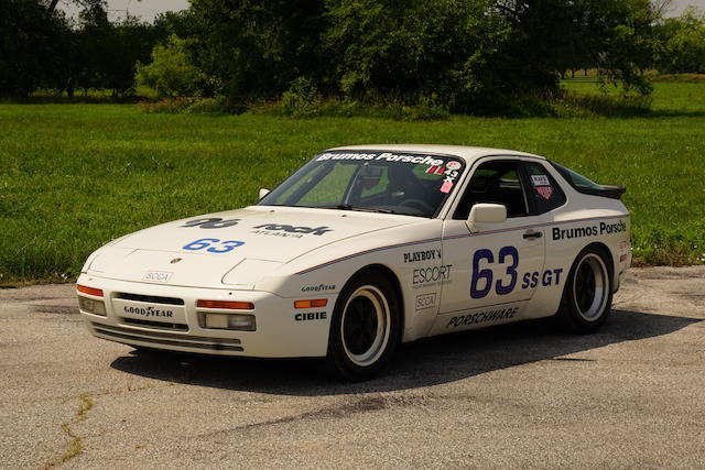 <b>1986 Porsche 944 Turbo</b><br />VIN. WP0AA0956GN150062