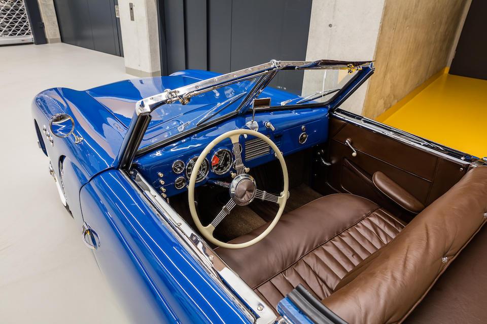 <b>1950 Veritas Scorpion Cabriolet</b><br />Chassis no. 5095<br />Engine no. 73095