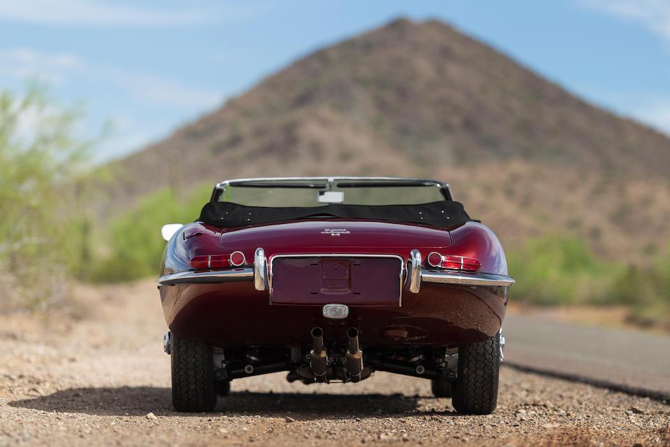 <b>1967 Jaguar E-Type Series I 4.2 Roadster</b><br />Chassis no. 1E15362<br />Engine no. 7E13048-9