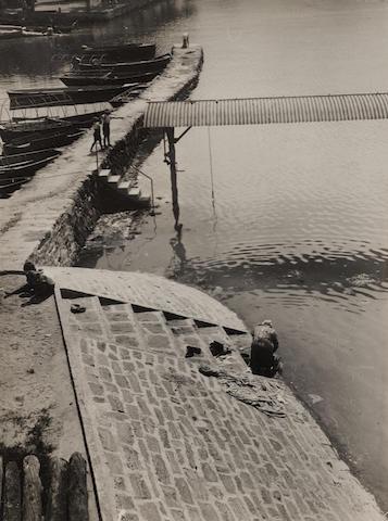 László Moholy-Nagy (1895-1946); Herbstwäsche, Ascona, Lago Maggiore;