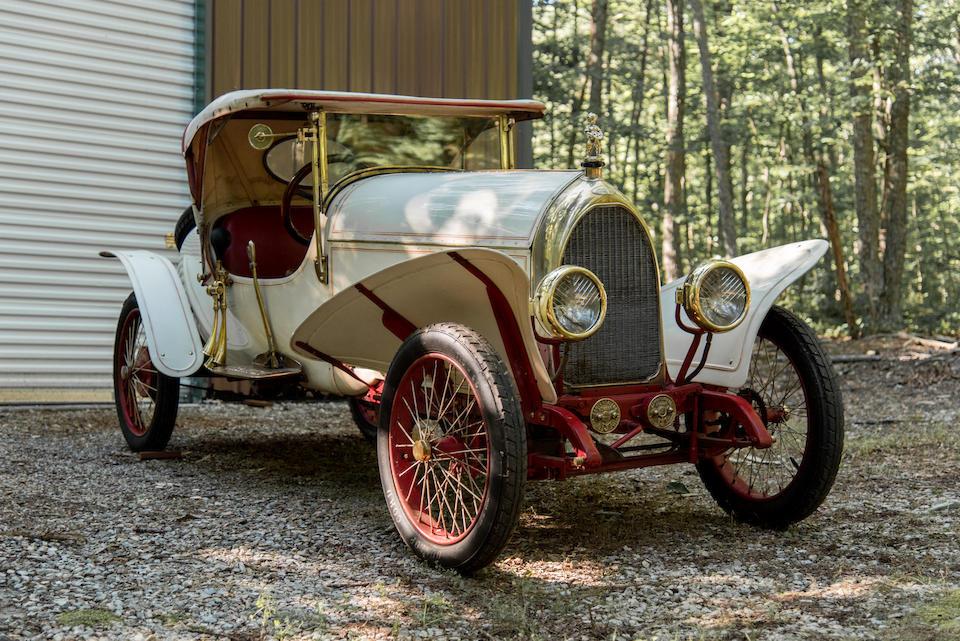 <b>1911 Breese Paris Teardrop Roadster</b><br />Engine no. 2783E