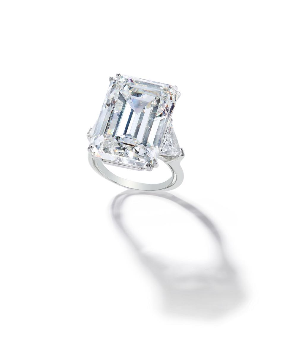 A diamond ring, Harry Winston,