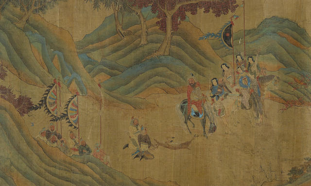 After Zhao Mengfu (1254-1322) Hunting Scene