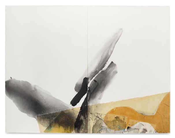 Chuang Che (Zhuang Zhe, B. 1934) Figure and Landscape #4, 1971