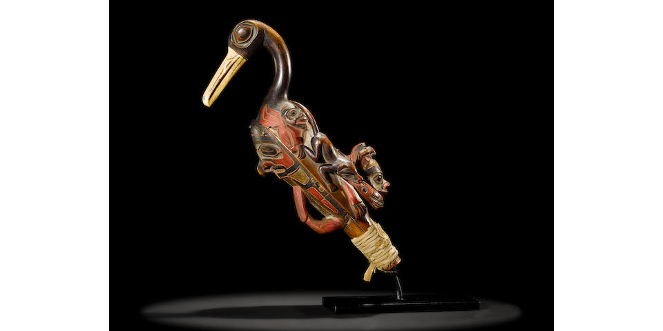 An exceptional Tlingit rattle