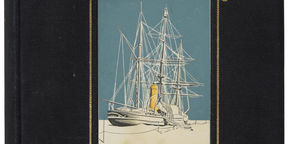 SHACKLETON, ERNEST, REGINALD KOETTLITZ, LOUIS C. BERNACCHI and APSLEY CHERRY-GARRARD, EDITORS. South Polar Times. London: Smith, Elder, & Co., 1907, 1914 and 2010.