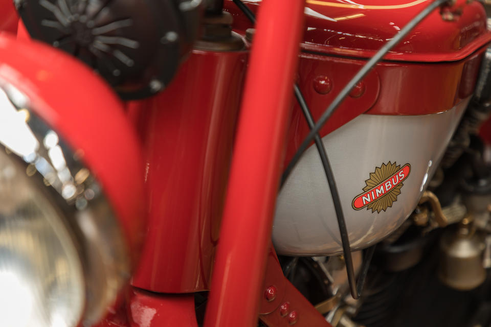 The ex-Steve McQueen,1939 Nimbus 750cc Model C Luxus Combination Frame no. 4486 Engine no. 4486