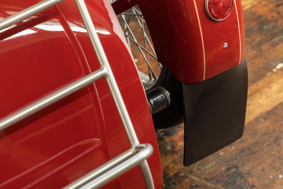 The ex-Steve McQueen,1939 Nimbus 750cc Model C Luxus Combination Frame no. 4486 Engine no. 4486