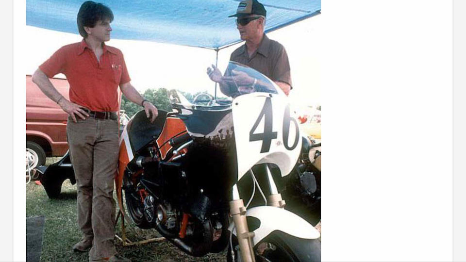 1 of 2 built, 1984 Buell RW750 Production Racing Motorcycle