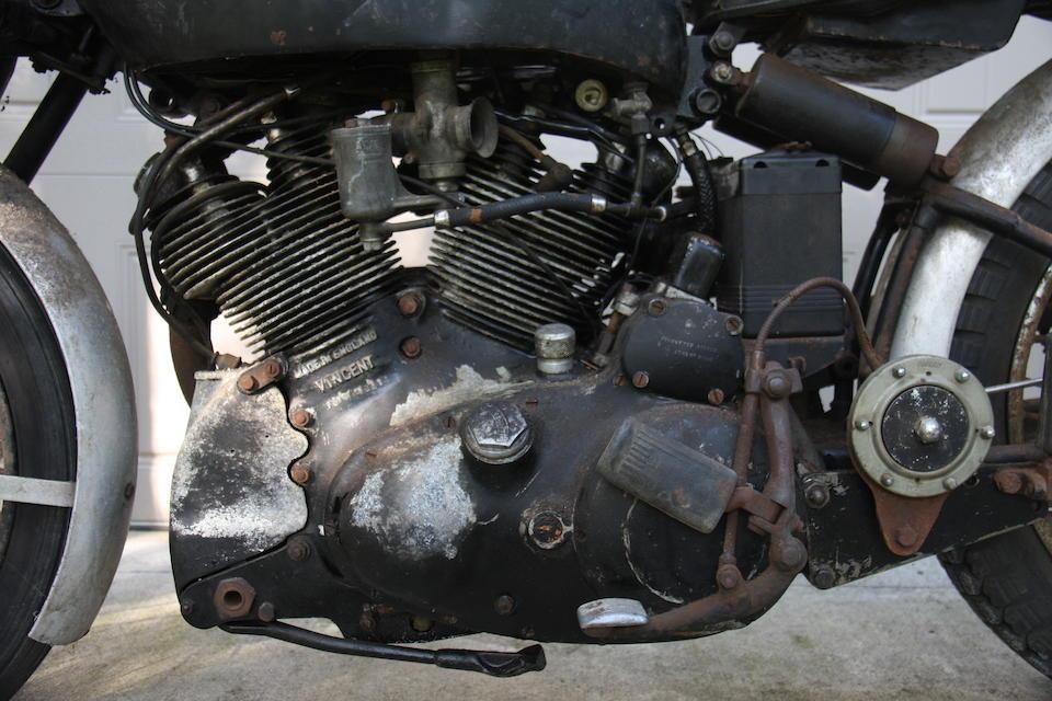 1951 Vincent 998cc Black Shadow Series-C Frame no. RC10114B Engine no. F10AB/1B/8214