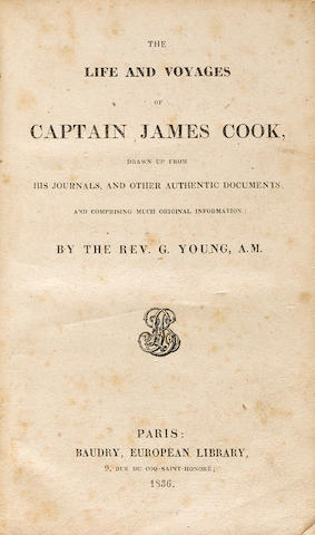 FIVE WORKS ON CAPTAIN JAMES COOK. 5 volumes, comprising: