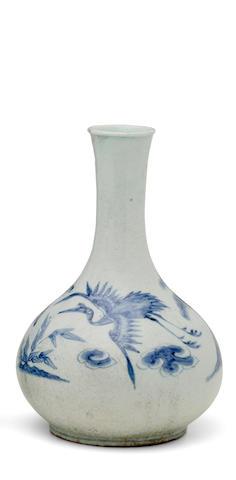 A porcelain vase Joseon dynasty (1392-1897), 19th century