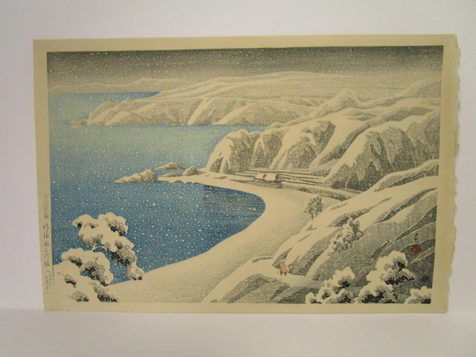 Kawase Hasui (1883-1957) Taisho (1912-1926) era, circa 1921