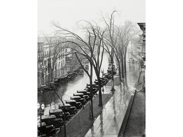 Walker Evans (1903-1975); Main Street, Saratoga Springs, New York;