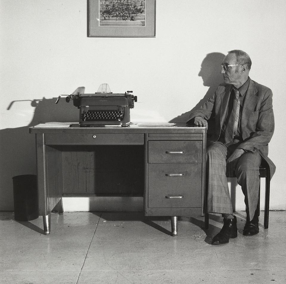 [BURROUGHS, WILLIAM. 1914-1997.] MAPPLETHORPE, ROBERT. 1946-1989. William Burroughs, 1979.