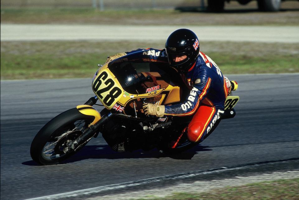 The ex-Syd & Malcolme Tunstall, Alan Cathcart, 1973 Ducati 885cc 750 Sport 'Old Yello' Racing Motorcycle Frame no. DM750 753817  Engine no. 753342