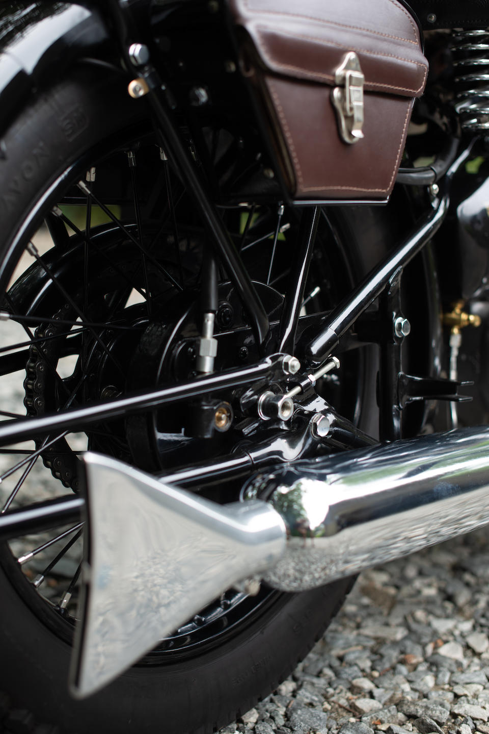 Meticulously restored concours award winner,1936 Brough Superior 982cc SS80 Frame no. M8/1604 Engine no. BS/X4 4328
