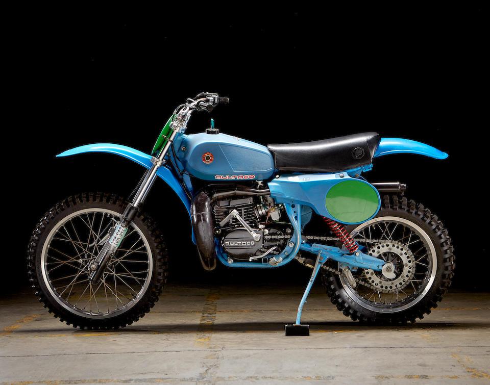 The ex-Jim Pomeroy, 1979 Bultaco Pursang Mk12 Frame no. PB21900226 Engine no. PM21900226