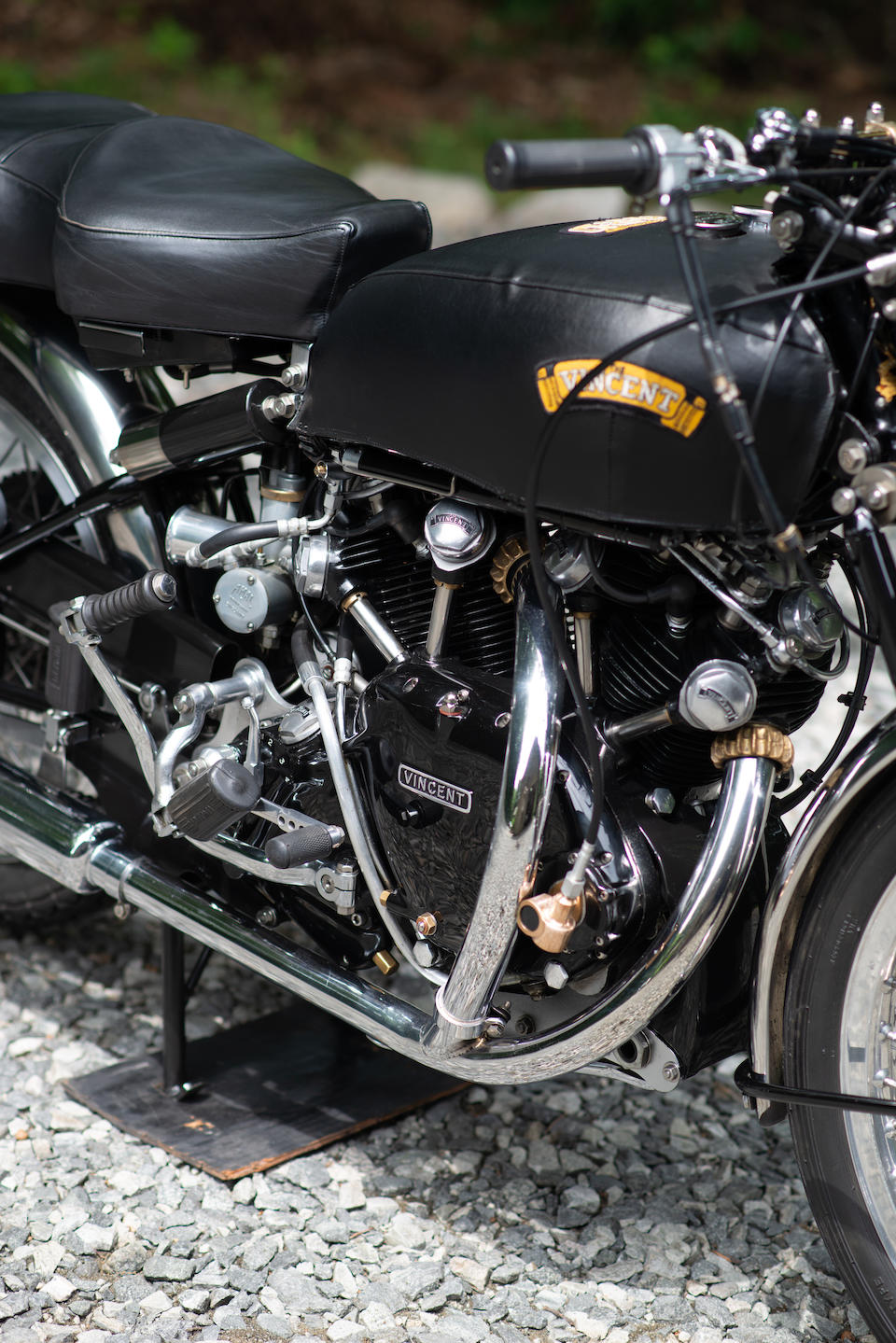 Matching numbers, restored to Black Shadow specification,1951 Vincent 998cc Rapide Series-C Frame no. RC10144 Engine no. 10AB/1/8244