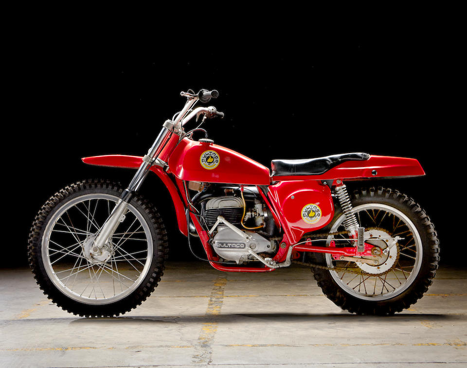 "As ridden by Peter Fonda in the film ""Easy Rider"",1968 Bultaco Pursang 250 MkII Frame no. 48-005120 Engine no. 48-00510"