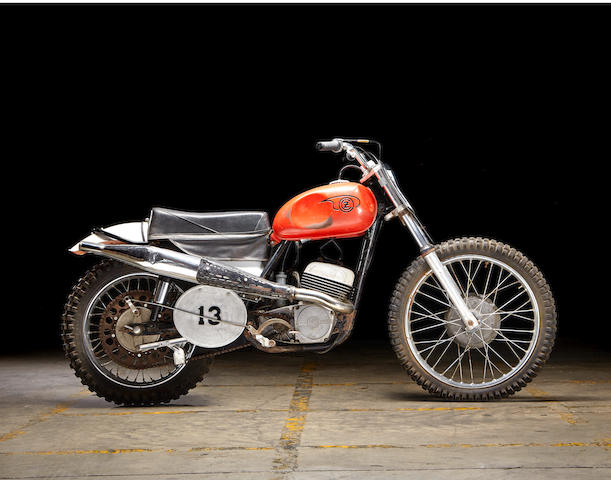 "As ridden by Paul Newman in the film ""Sometimes a Great Notion"",1967 CZ 250 Frame no. 980-02-02269 Engine no. 980-02-02269"