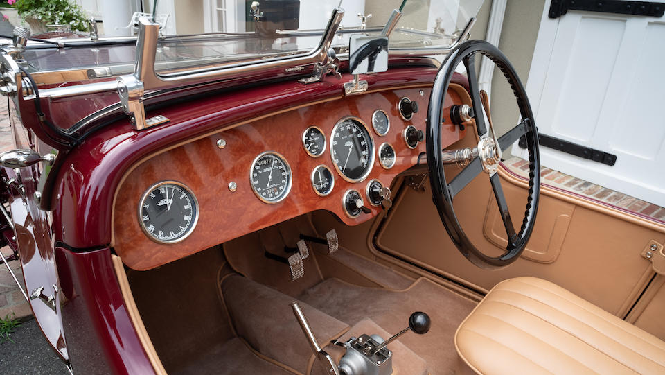 <b>1930 Aston Martin International Sports 2/4 Seater</b><br />Chassis no. K083<br />Engine no. K083