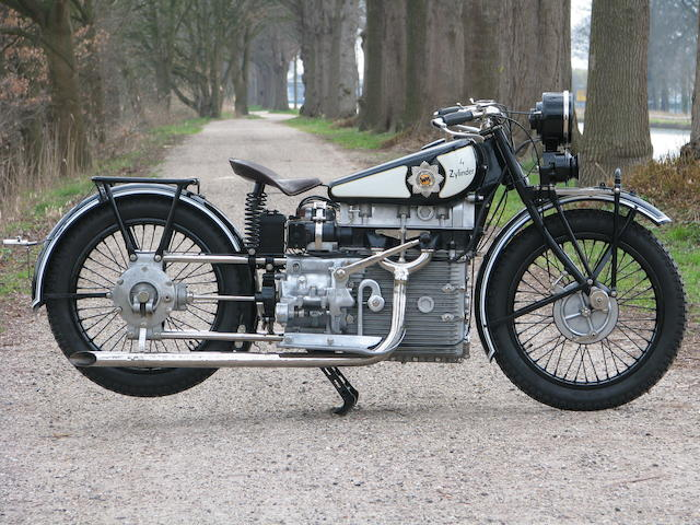 Sold for a world record price,1928 Windhoff 746cc Four Frame no. 902 Engine no. 902