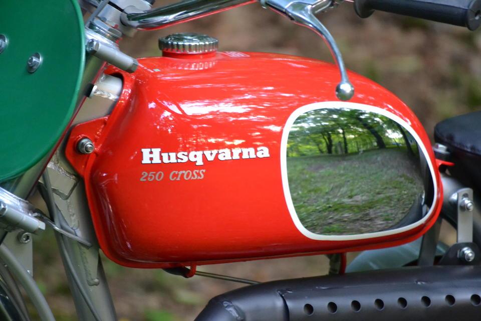 The ex-Dennis Hopper,1970 Husqvarna 250 Cross Frame no. MH4689 Engine no. 252156