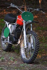 The ex-Dennis Hopper,1970 Husqvarna 250 Cross Frame no. MH4689 Engine no. 252156
