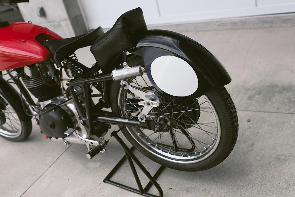1946 Gilera Saturno 500 Project Frame no. to be advised Engine no. 84X90263604