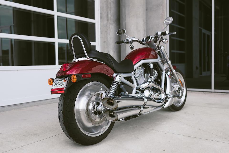 2003 Harley-Davidson VRSC V-ROD Anniversary Custom  Frame no. 1HD1HAZ403K834303 Engine no. HAZ3884303
