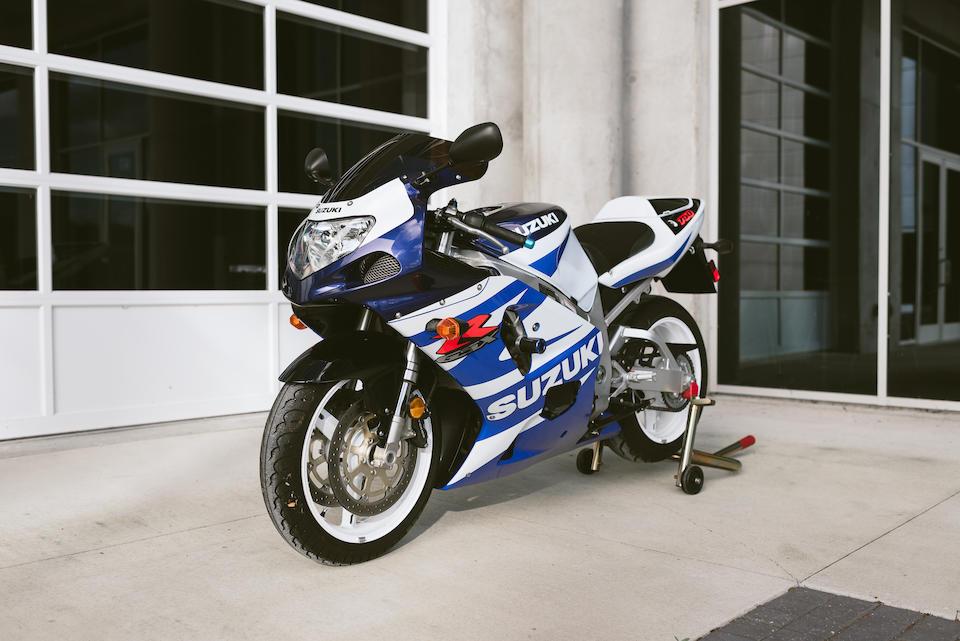 2002 Suzuki GSXR750 K2 Frame no. JS1GR7HA722104724 Engine no. to be advised
