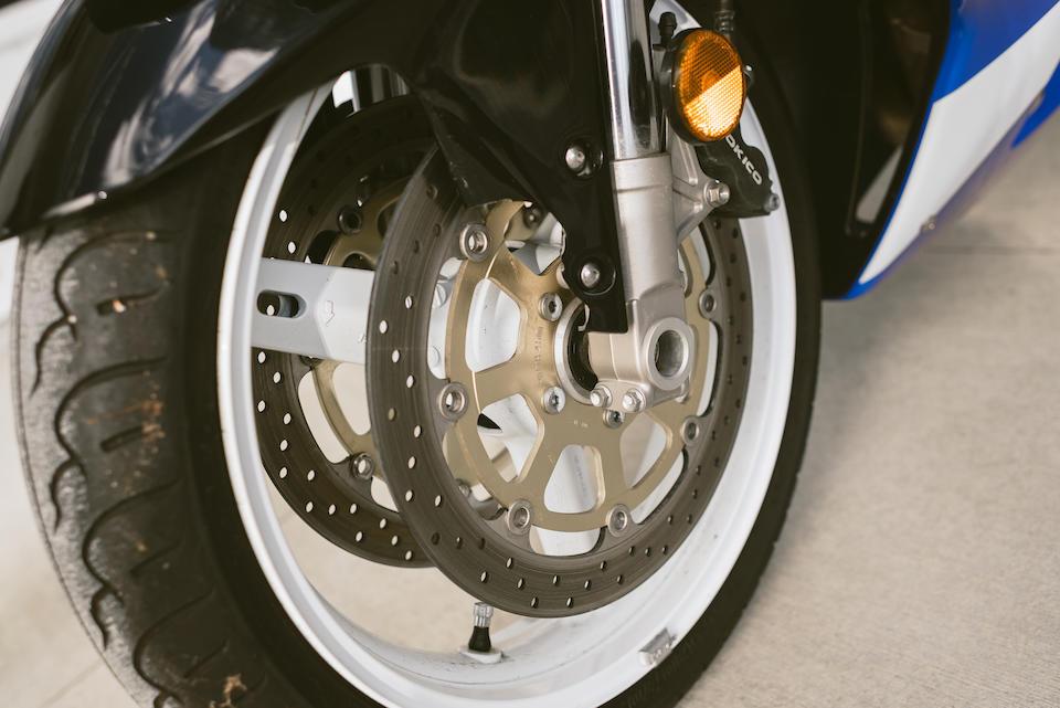 Bonhams : 2002 Suzuki GSXR750 K2 Frame no  JS1GR7HA722104724
