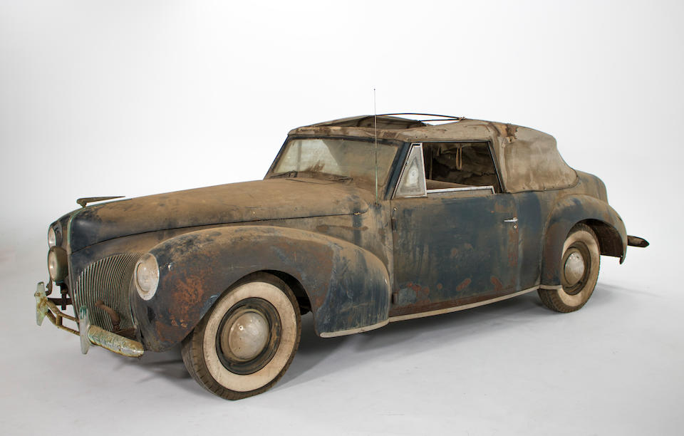 <b>1940 Lincoln Continental Convertible</b><br />Chassis no. H96693